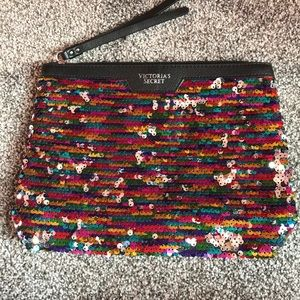Brand new never used victoria secret clutch